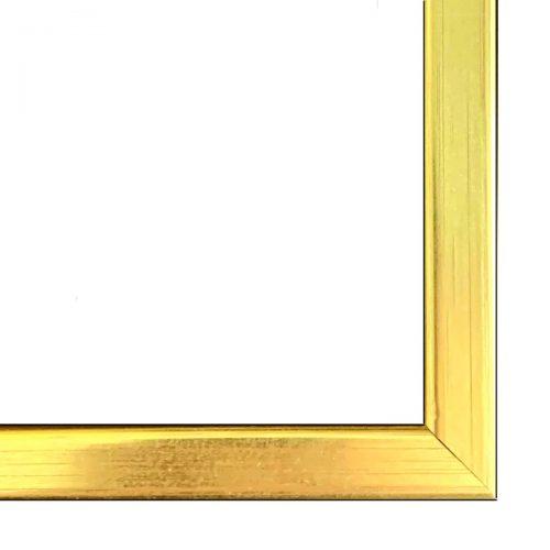 Złota wąska rama do obrazu