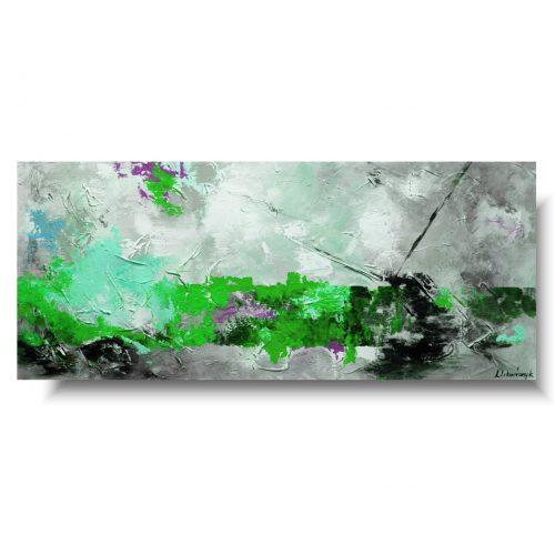 Abstrakcja duży obraz relaks
