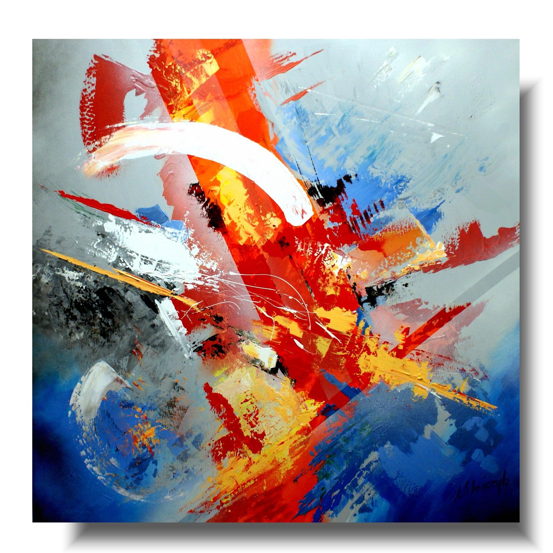abstrakcja duży obraz wolność