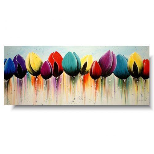 Ikea obrazy kolorowe tulipany
