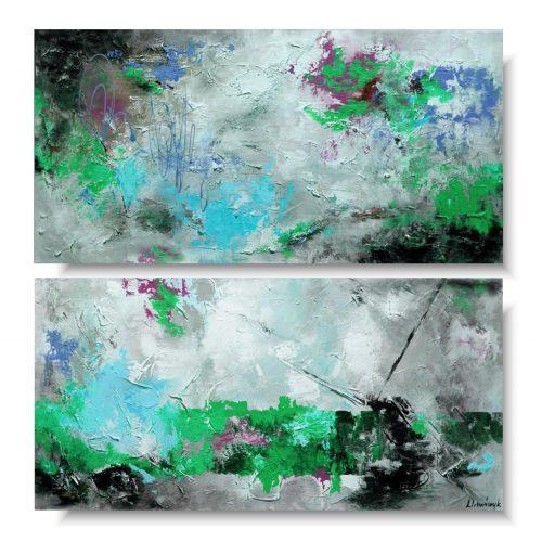 Kolorowy duży obraz