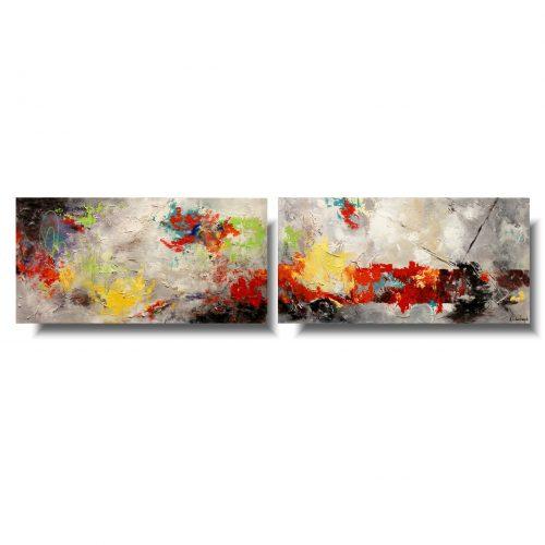 Nowoczesne obrazy abstrakcje
