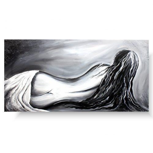 Obrazy akty kobieta od tyłu