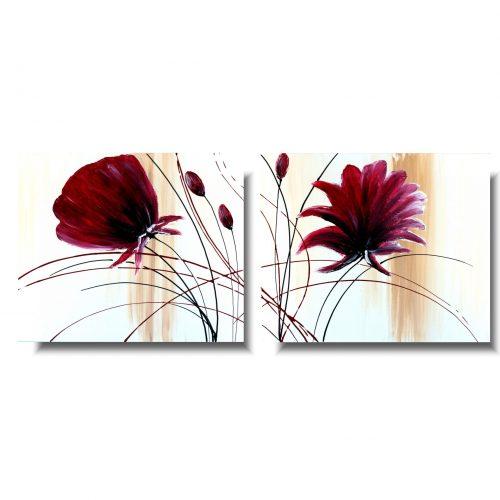 fantastyczny obraz kwiaty