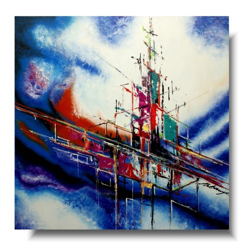 Malarstwo współczesne flota morska