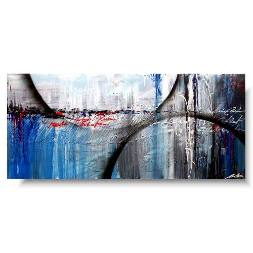 obraz abstrakcyjny koło fortuny
