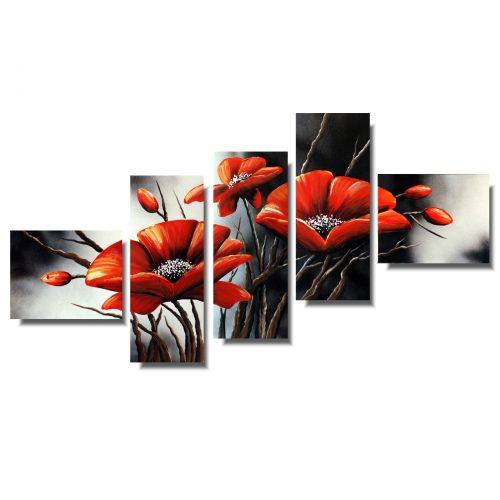 Obraz kwiaty maki