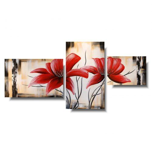 Walentynka obraz kwiaty
