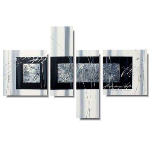 Abstrakcja nowoczesny obraz spokojna przestrzeń