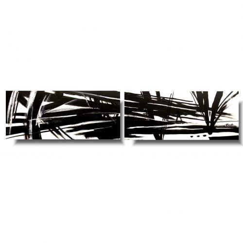 czarno biały obraz abstrakcja