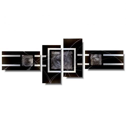 czarny obraz abstrakcja