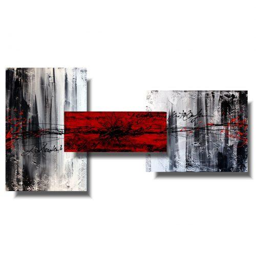 czerwony sen obraz 3d
