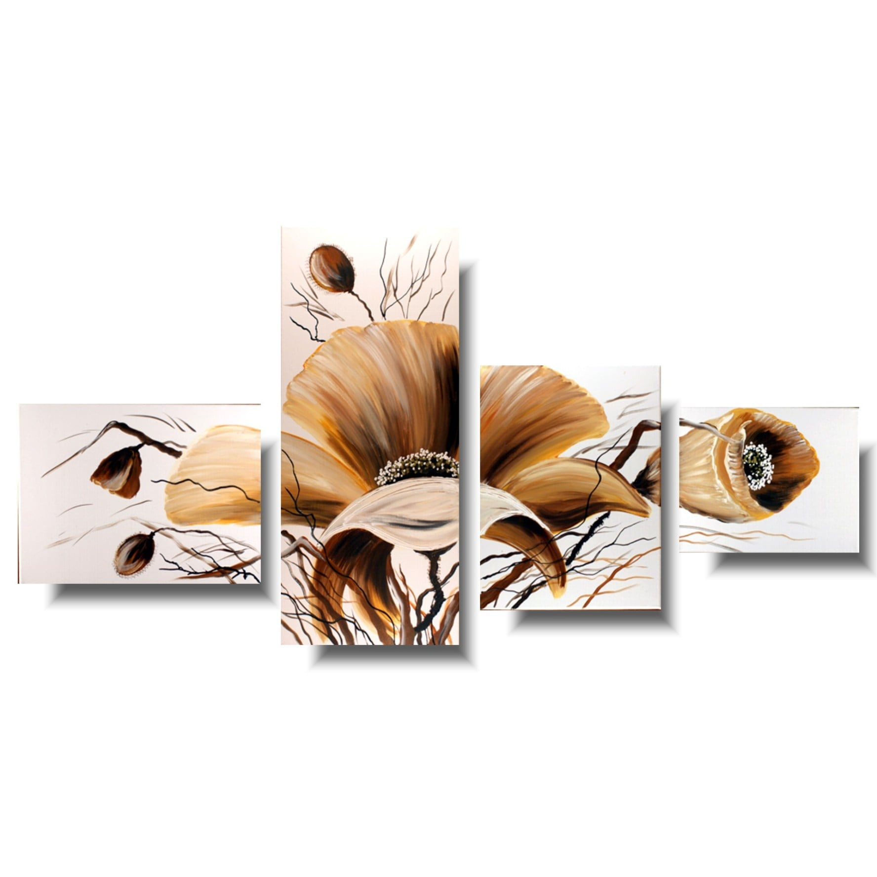 Letni obraz kwiaty maki