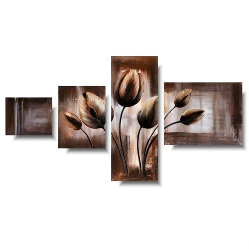 Modny obraz zkwiatami