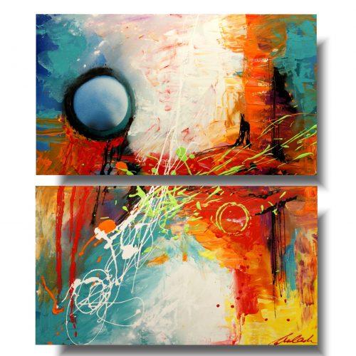 Obraz do łazienki abstrakcja