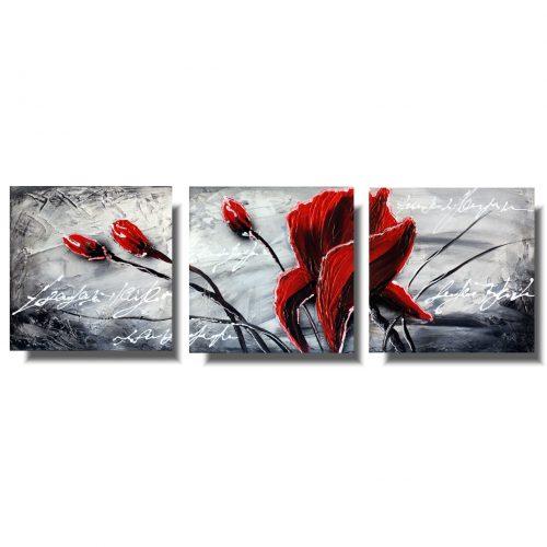 Obraz kwiaty zabójcze czerwone maki