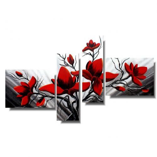 Obraz magnolia obrazy kwiaty