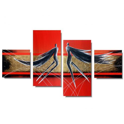 obraz malowany na płótnie anioły