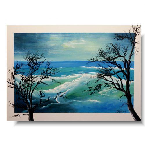 Obraz morski pejzaż