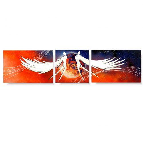 obraz podniebne anioły