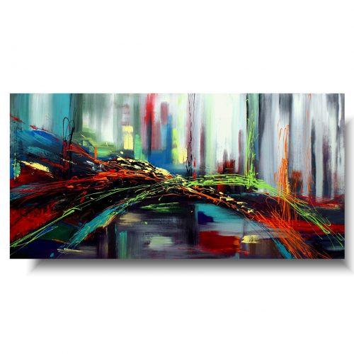 obraz ręcznie malowany farbami