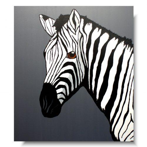 obraz zebra obrazy ze zwierzętami