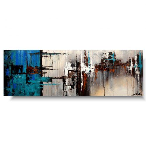 abstrakcja niebieski obraz