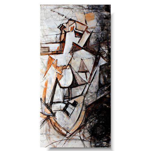 Abstrakcja obraz geometryczna przestrzeń