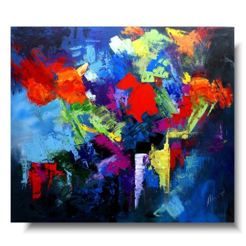 Barwny obraz abstrakcyjny