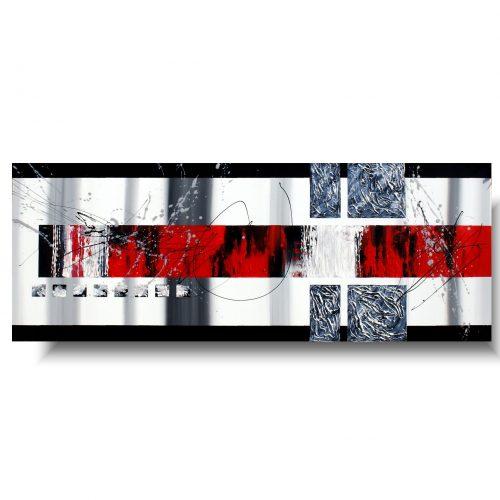 Czerwona elegancka abstrakcja