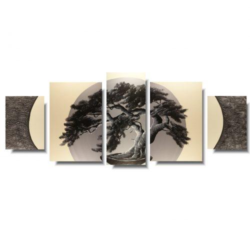 Duży obraz drzewo bonsai