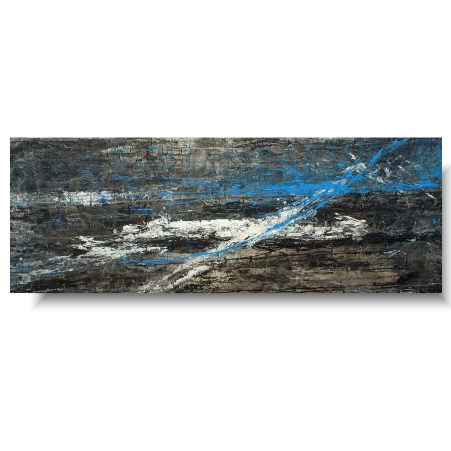 Duży obraz nowoczesny blue time 3006