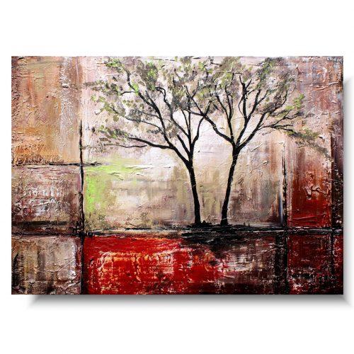 duży obraz samotne drzewo