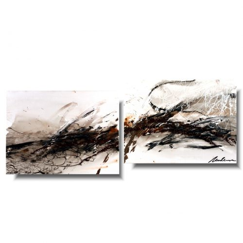 Elegancki obraz abstrakcja upływający czas