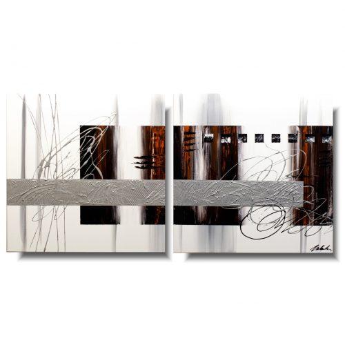 Minimalistyczny obraz abstrakcja