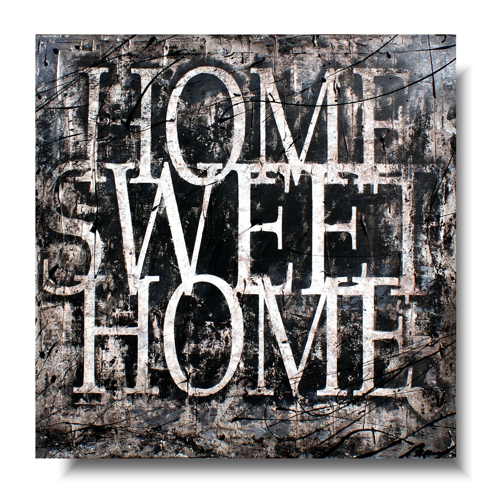 Obraz Z Cytatem Home Sweet Home I Obrazy Do Kuchni Malowane 928a