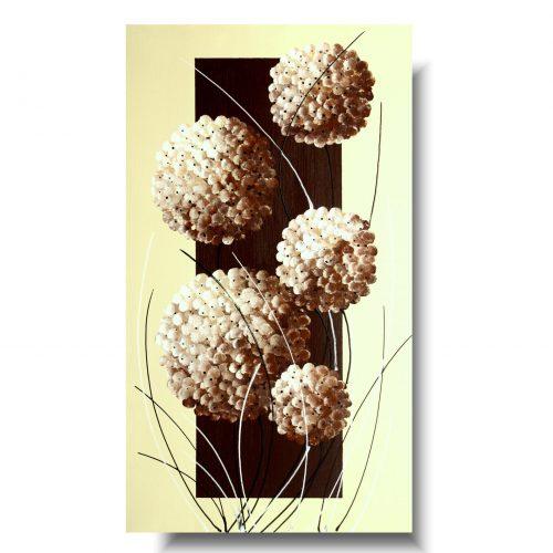 Piękny obraz romantyczna pionowa hortensja