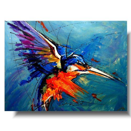Współczesny obraz szybki koliber