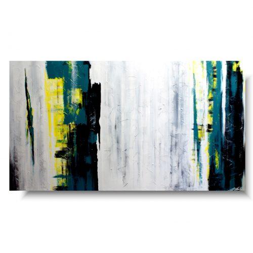Duży minimalistyczny obraz abstrakcja