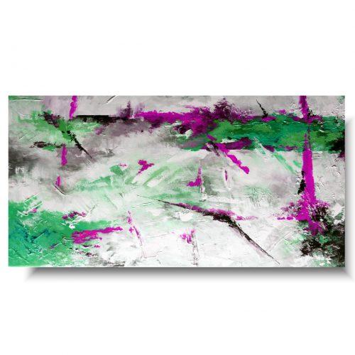 Obraz na prezent kontrastowa abstrakcja