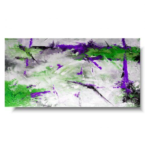 Obraz nad kanapę soczysta abstrakcja