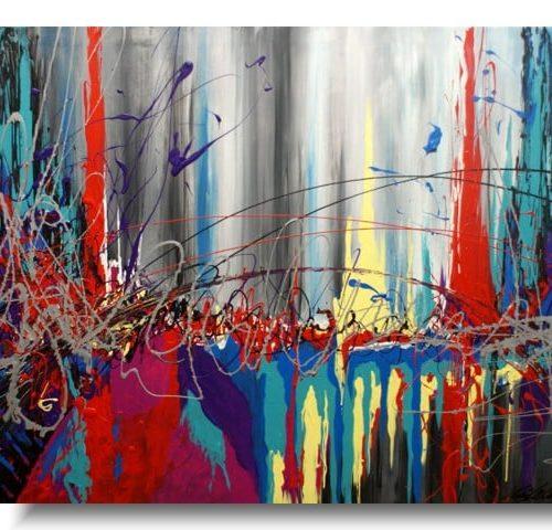 duży obraz multicolor