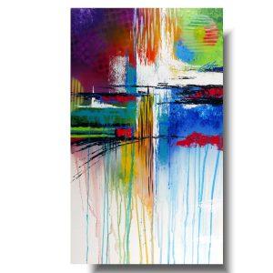 Kolorowa abstrakcja finezja