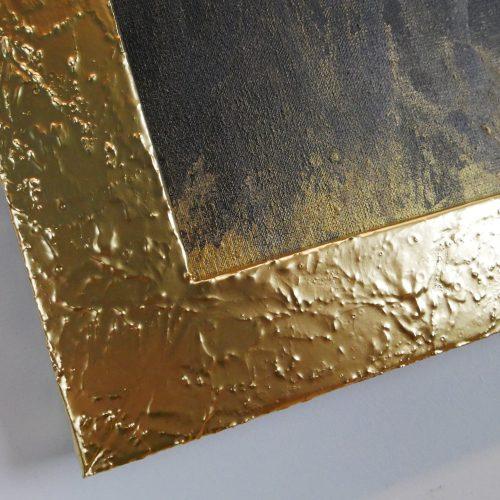 Rama do obrazu złota matowa nowoczesne ramy oprawy R4