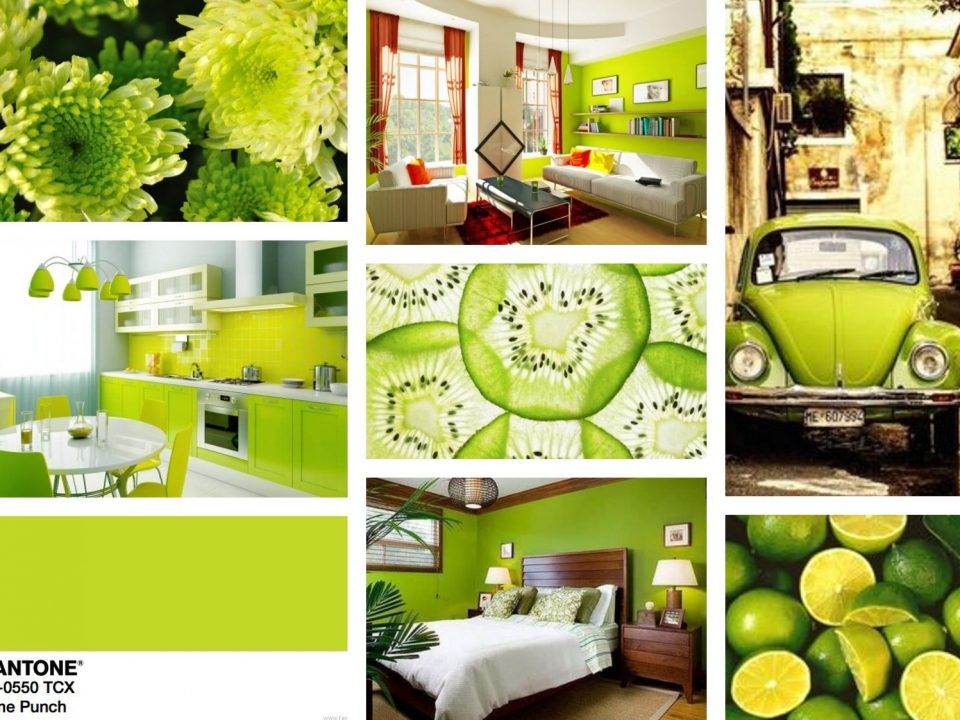 lime punch pantone 2018