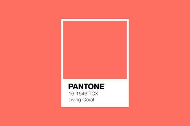 Instytut Pantone ogłasza kolor roku 2019 - Living Coral - ciepła energia.