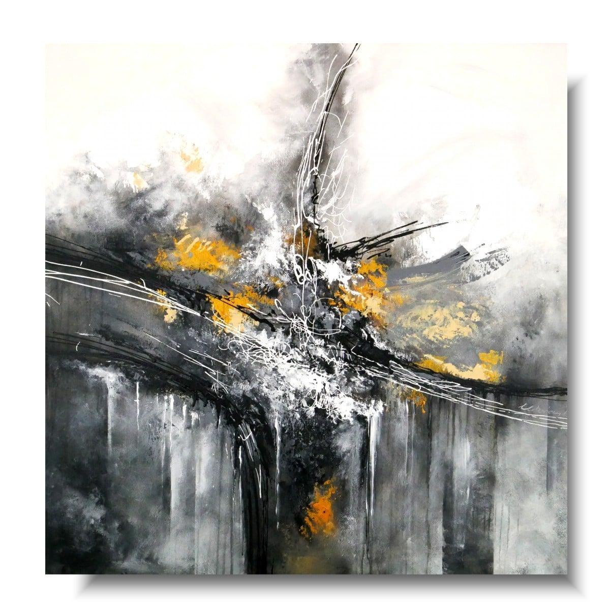Elegancki obraz premium abstrakcja amplituda 1