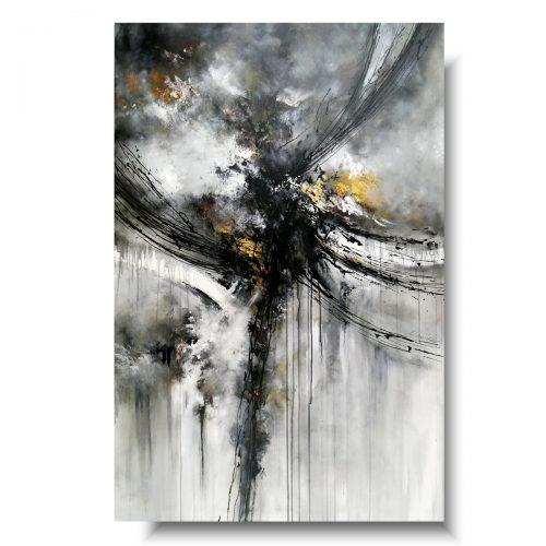 Obraz premium abstrakcja ukrzyżowanie