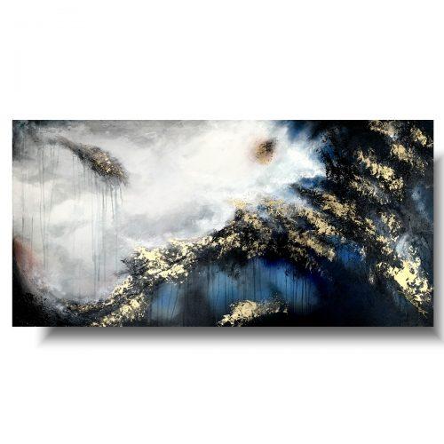 Piękny obraz abstrakcja we śnie