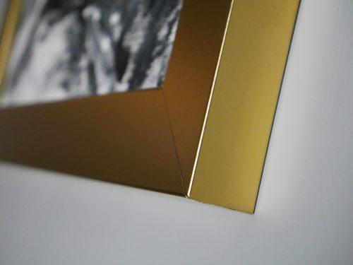 Rama do obrazu złota matowa